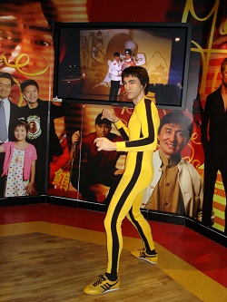 Bruce Lee Madame Tussauds
