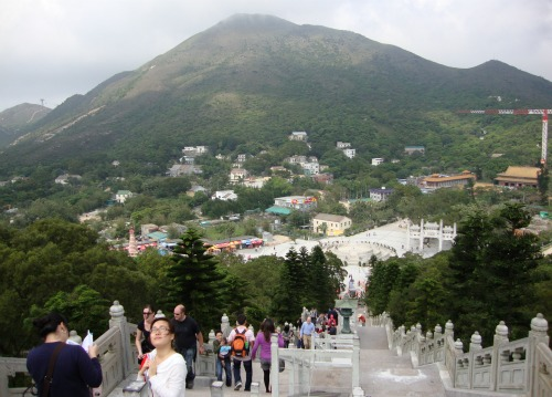View From Tian Tan Buddha