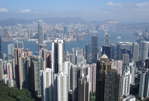 Victoria Harbour View From Victoria Peak